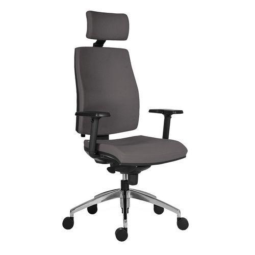 Kancelářská židle Armin, šedá