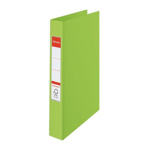 Esselte VIVIDA kroužkový pořadač A4 plastový Zelený