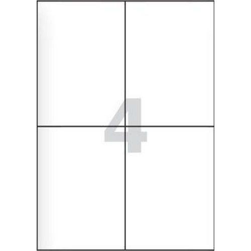 Samolepicí etikety, 105 x 148,5 mm, 100 ks