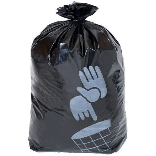 Pytle na odpad Manutan, 160 l, tloušťka 90 mic, 50 ks