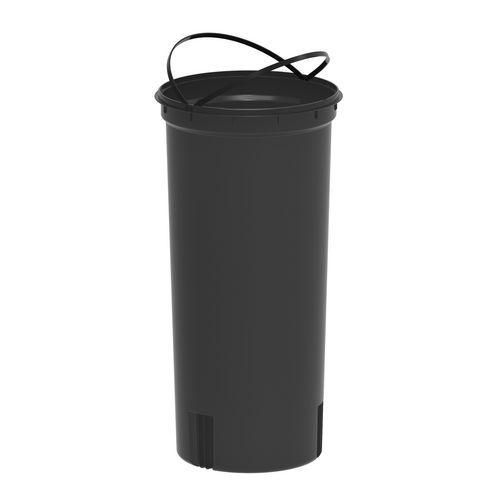 Alda Vnitřní nádoba do košů EKO, objem 30 l, Kapacita: 30 L, Materiál: plast, Barva: Černá, Typ: otevřený, Výška: 600 mm, Hmotnost: 1 kg, O: 250 mm, Model: - Prodloužená záruka na 10 let