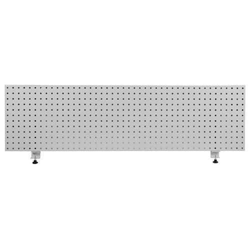 Závěsný panel na nářadí, 45,6 x 168,1 cm, šedý
