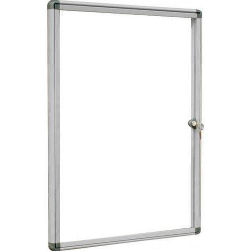 Magnetická vitrína Alcor Grey, jednokřídlá, 4 x A4