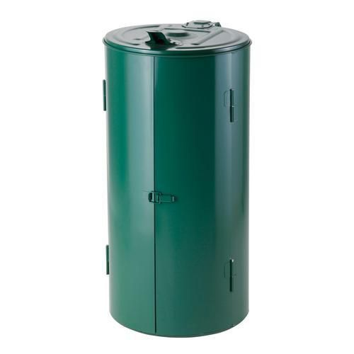 Stojan Meva na odpadkové pytle s víkem, zelený