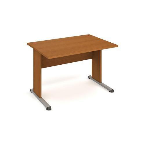 Kancelářský stůl Proxy, 120 x 80 x 75,5 cm, rovné provedení, dezén třešeň