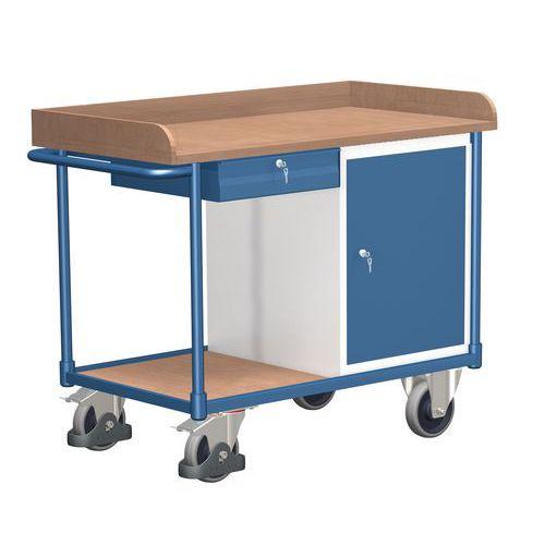 Dílenský vozík, 92,7 x 121,8 x 64 cm
