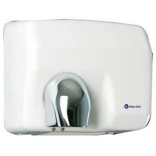 Elektrický vysoušeč rukou Merida Plus, bílý