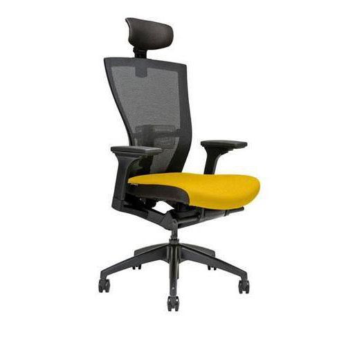 Kancelářská židle Merens, žlutá