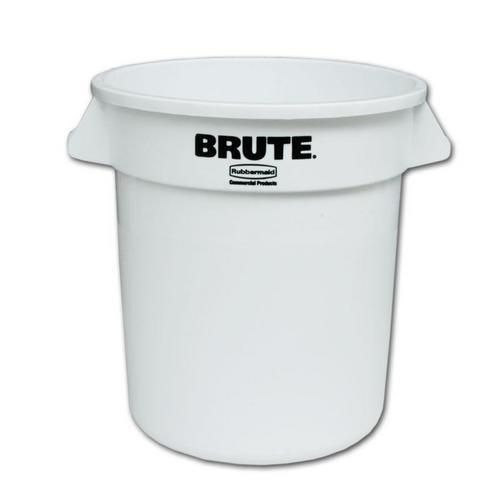 Plastový kulatý kontejner BRUTE, 38 l - Prodloužená záruka na 10 let