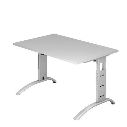 Výškově nastavitelný kancelářský stůl Baron Mittis, 120 x 80 x 65 - 85 cm, rovné provedení - Prodloužená záruka na 10 let