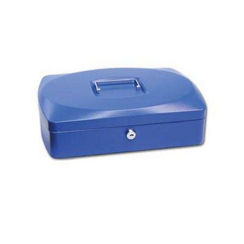 Přenosná pokladna, modrá, 9 x 33 x 23,5 cm