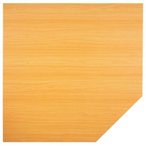 Stolová přístavba Baron, 80 x 80 cm, čtverec, dezén buk - Prodloužená záruka na 10 let