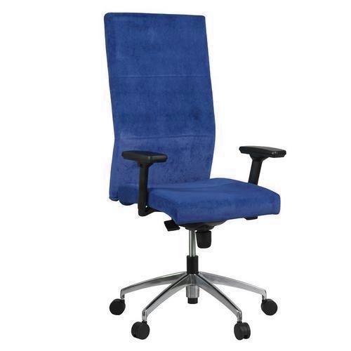 Kancelářské křeslo Vertika, tmavě modré