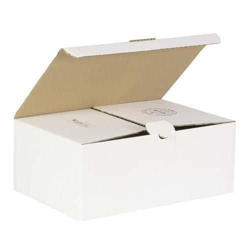 Kartonová krabice s víkem, 130 x 307 x 203 mm
