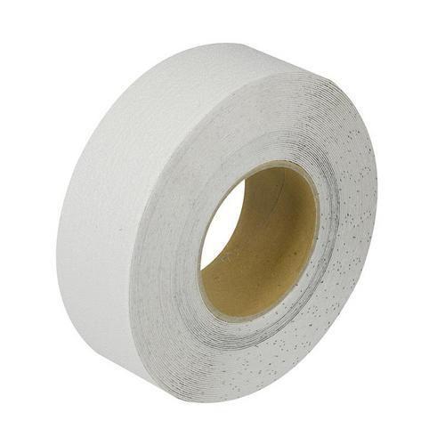 Protiskluzová podlahová páska, 18 m, bílá