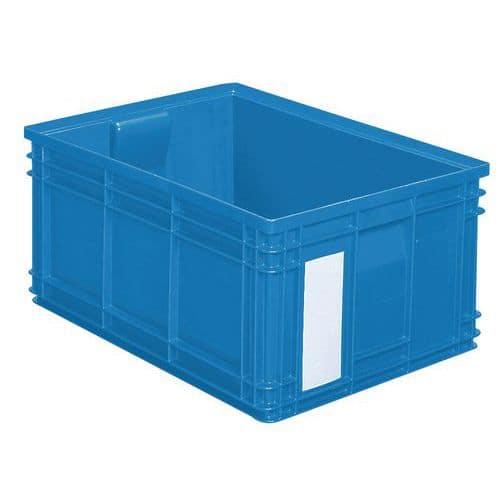 Barevná plastová přepravka PS (85 l), modrá