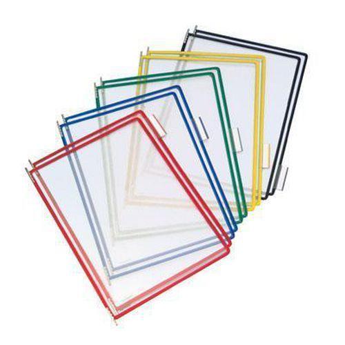 Informační rámečky Tarifold A4, 10 ks, barevný mix