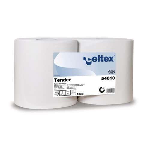 Průmyslové papírové utěrky Celtex Tender 500 2vrstvé, 500 útržků