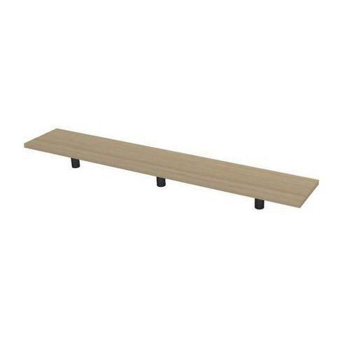 Police na stůl Set 160, 120 x 30 x 20 cm, světlé dřevo