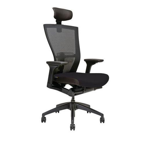 Kancelářská židle Merens, černá - Prodloužená záruka na 10 let
