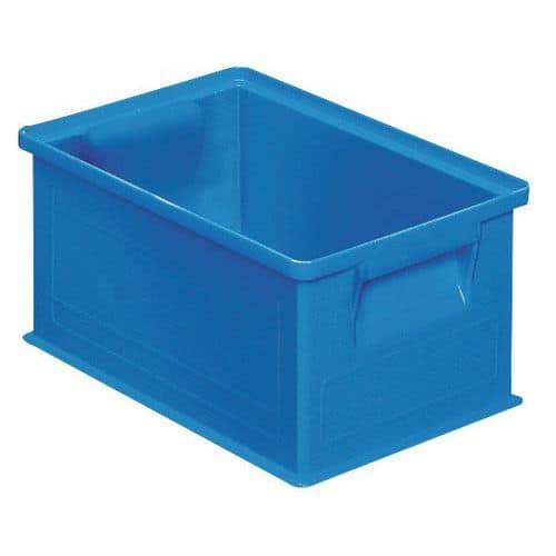 Barevná plastová přepravka PS (8,7 l), modrá - Prodloužená záruka na 10 let