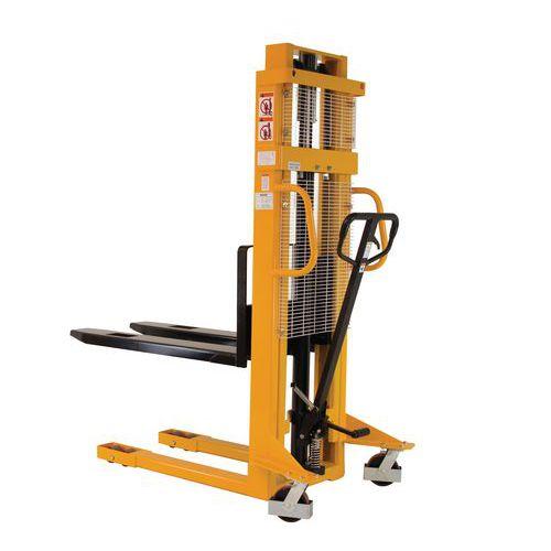 Ruční vysokozdvižný vozík, do 1 000 kg, výška zdvihu 2 500 mm