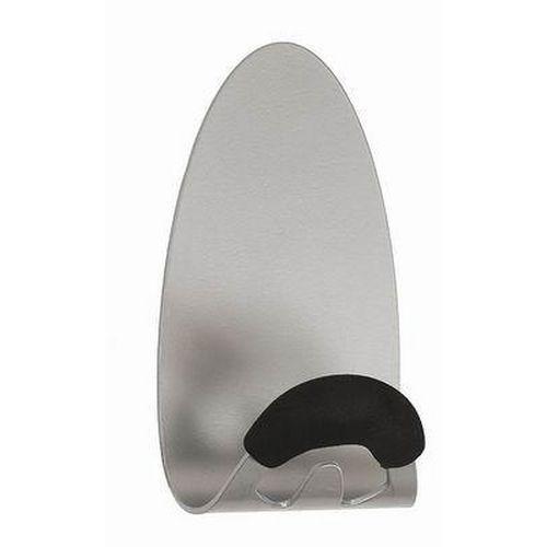 Magnetický nástěnný věšák s protiskluzovým háčkem, šířka 7,8 cm
