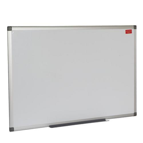 Bílá magnetická tabule Basic, 90 x 60 cm
