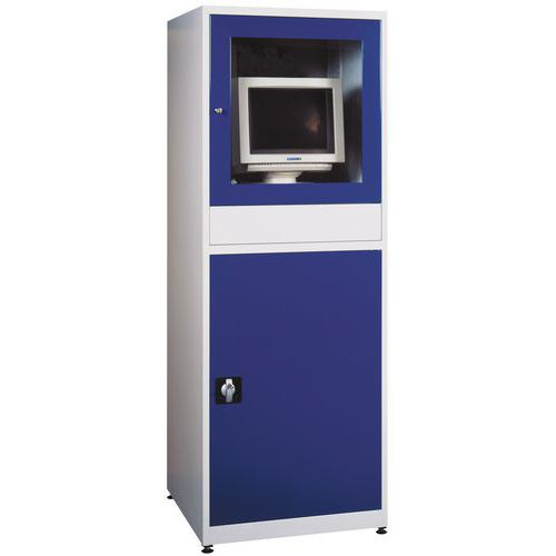 Dílenská skříň pro PC, 175 x 64 x 63 cm