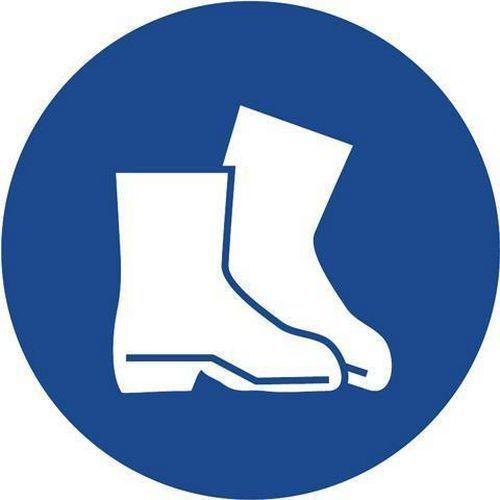 Příkazové bezpečnostní tabulky - Používej pracovní obuv