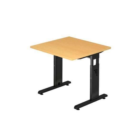 Ergo kancelářský Baron stůl Minos, 80 x 80 x 65 - 85 cm, rovné p