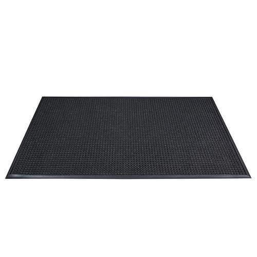 Vnitřní čisticí rohož s náběhovou hranou, 150 x 90 cm, černá