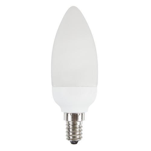 Kompaktní úsporná zářivka candle, 9 W, patice E14