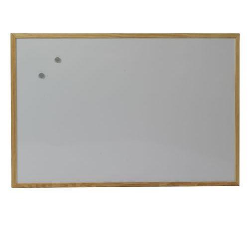 Bílá magnetická tabule Acacia, 600 x 900 mm