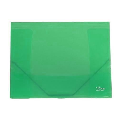 Plastové spisové desky Round, 10 ks, zelené