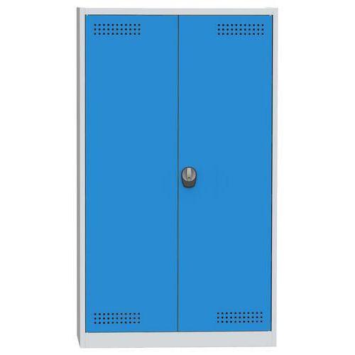 Skříň na kapaliny, modro/šedá, 1950x1200x500 mm