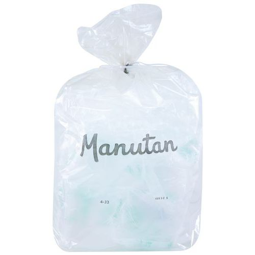 Pytle na odpad Manutan, 110 l, tloušťka 55 mic, 200 ks