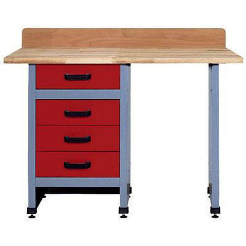 Dílenský stůl Monti, 84 x 120 x 60 cm - Prodloužená záruka na 10 let