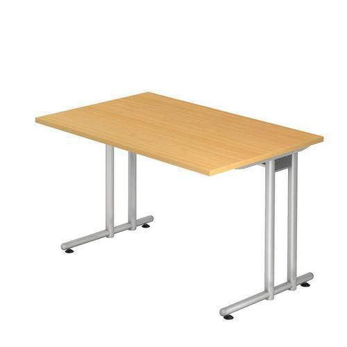 Kancelářský stůl Nomeris, 120 x 80 x 72 cm, rovné provedení, dez