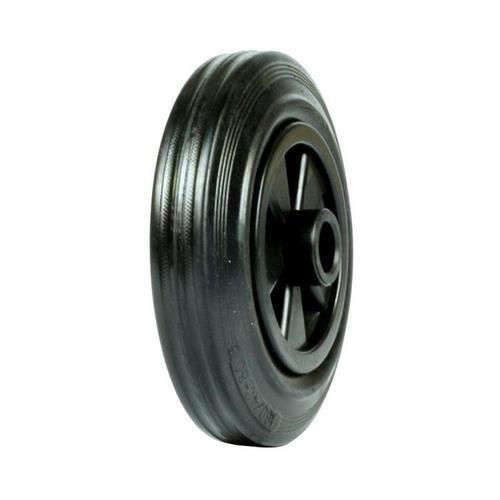 Gumové pojezdové kolo, průměr 160 mm, kluzné ložisko
