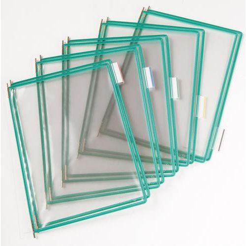 Informační rámečky Tarifold A4, 10 ks, zelené