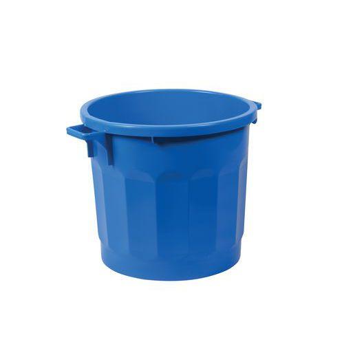Plastový kontejner Bert, 75 l, modrý
