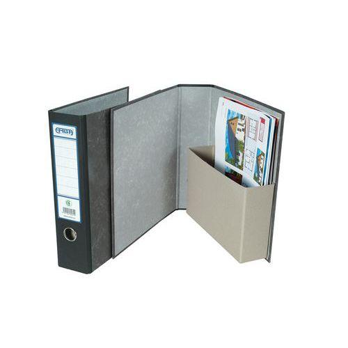 Pořadač archivní s kapsou