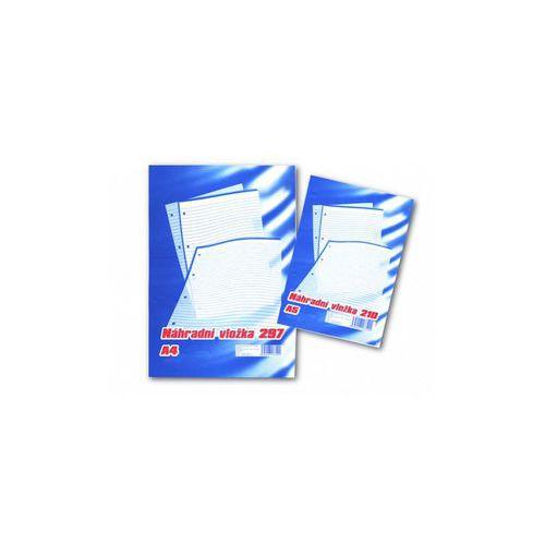 Náhradní vložka pro Karis blok A4, 5 ks, linkovaná