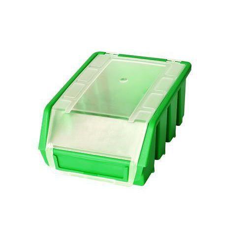 Plastový box Ergobox 2 Plus 7,5 x 16,1 x 11,6 cm, zelený