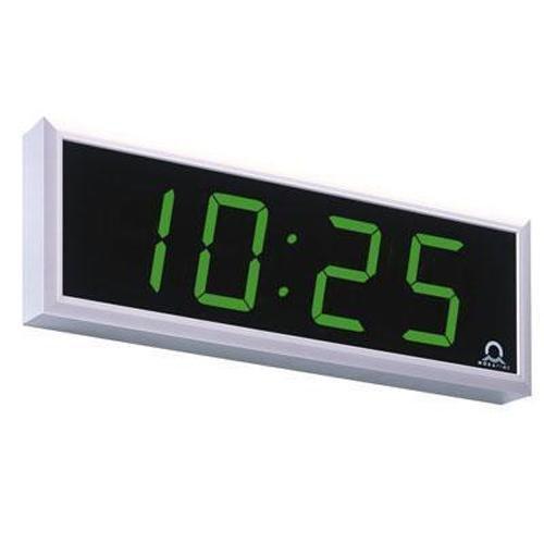 Digitální hodiny, jednostranné, nástěnné