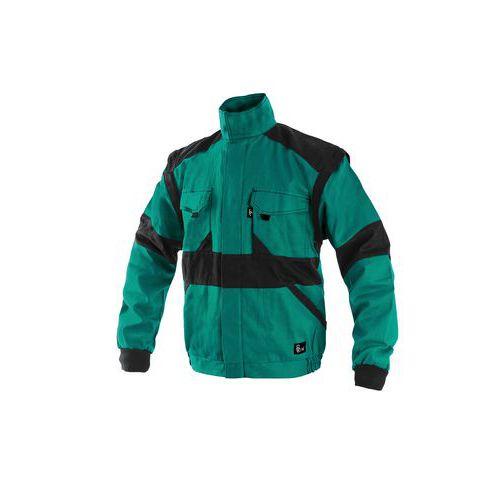 Pánská montérková zimní blůza CXS, zelená/černá