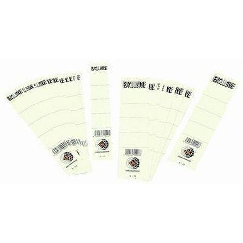 Vsuvné štítky na pořadače, 50 ks