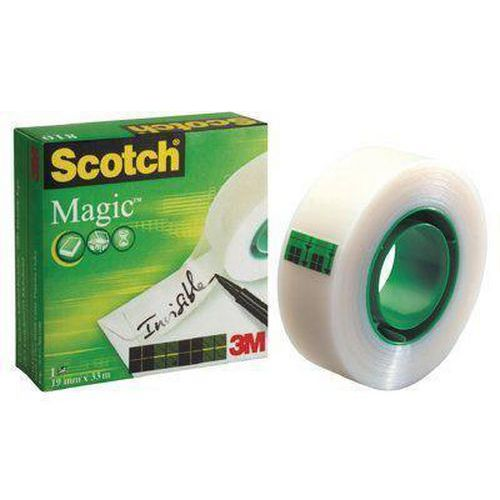Lepicí páska SCOTCH MAGIC 19 mm x 33 m - páska