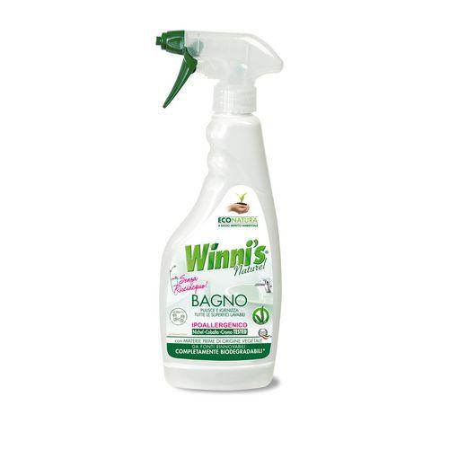 Ekologický čisticí prostředek na koupelny Winnis Bagno, s rozprašovačem, 500 ml, 12 ks